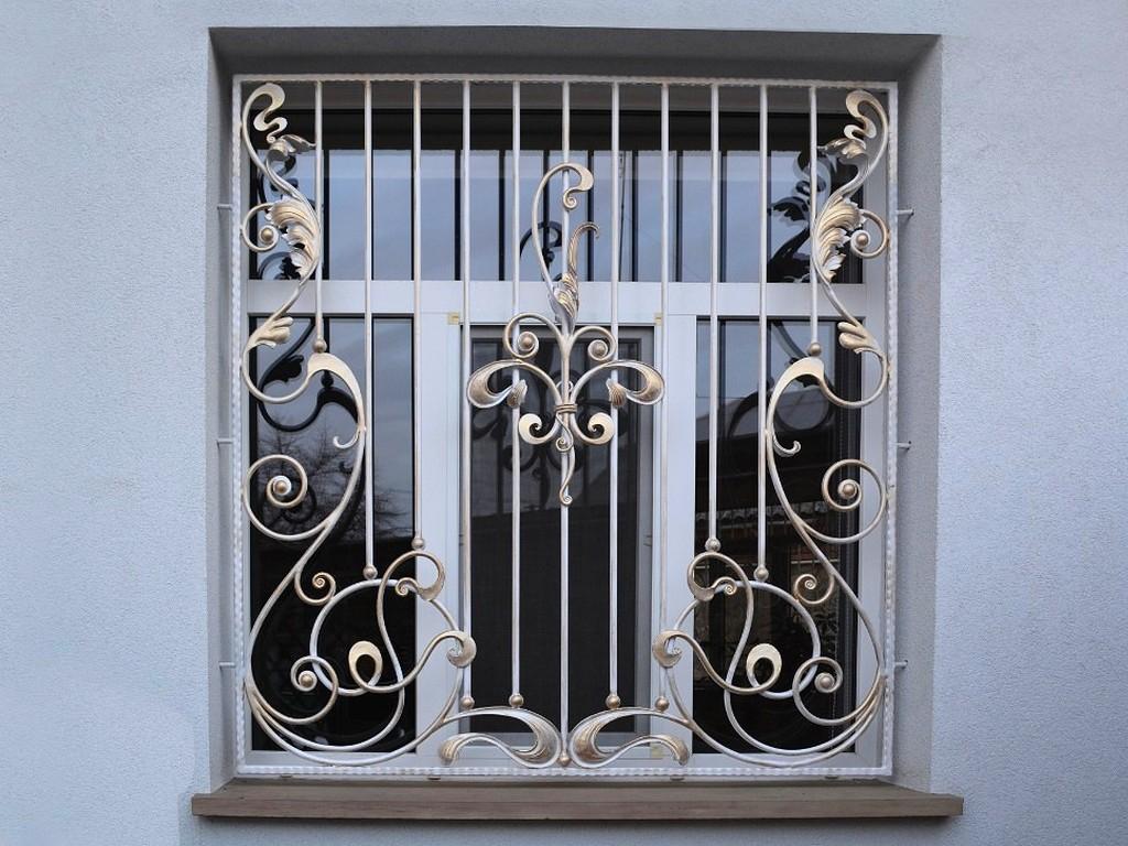 Решетка для окна Р-005 ручной ковки
