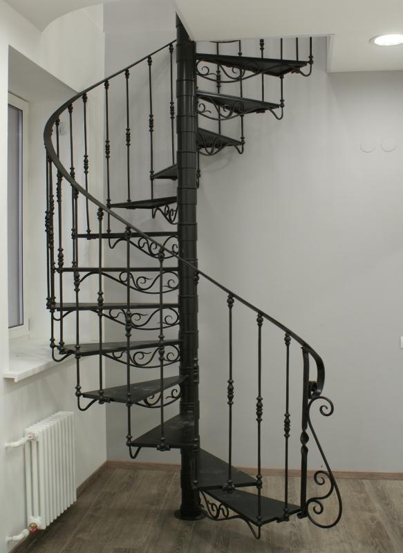 Кованая лестница Л-012