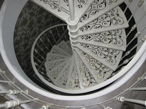 Кованая лестница Л-011