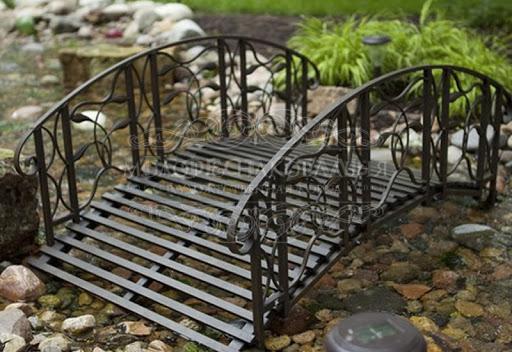 Кованый декоративный мостик М-007