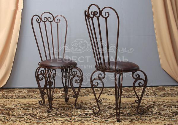 Кованый стул С-001