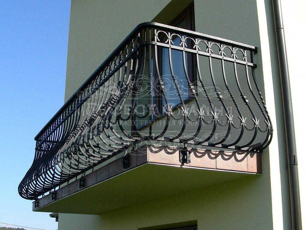 Кованый балкон КБ-005