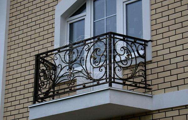 Кованый балкон КБ-006