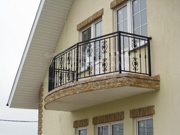 Кованый балкон КБ-007